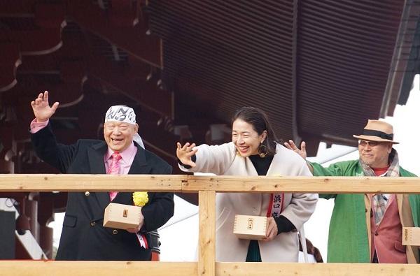 2018年 浅草観音文化芸能人節分会