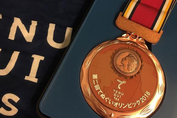 tenugui_olympic2018 -メダル