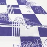 【限定復刻】【2021年5月限定】 手ぬぐい「紫陽花格子 青紫」