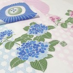 【2021年初夏新作】番傘に紫陽花 桃色・水色